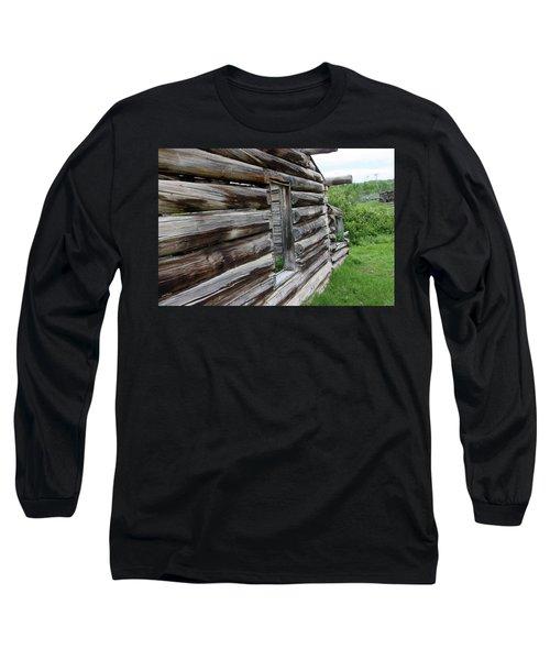 Outside Cabin Window Long Sleeve T-Shirt