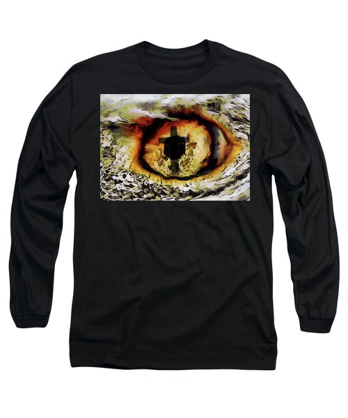 Overwhelmed Remember Him Long Sleeve T-Shirt by Ernie Echols