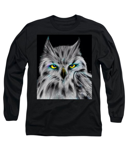 Owl Eyes  Long Sleeve T-Shirt