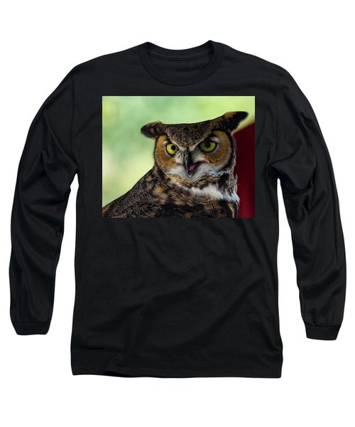 Owl Tongue Long Sleeve T-Shirt