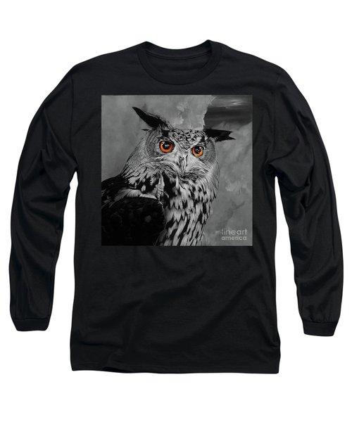 Owls Eye Long Sleeve T-Shirt
