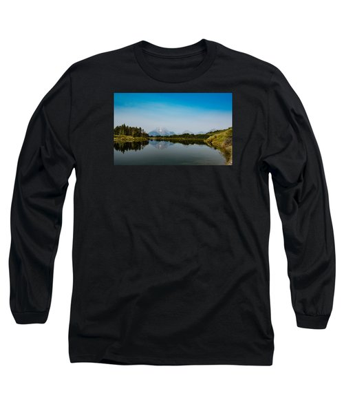 Oxbow Bend Long Sleeve T-Shirt by Cathy Donohoue