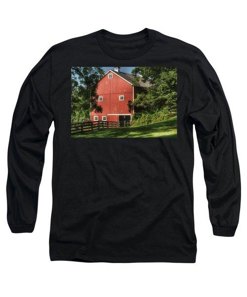 0035 - Oxford's Big Red I Long Sleeve T-Shirt