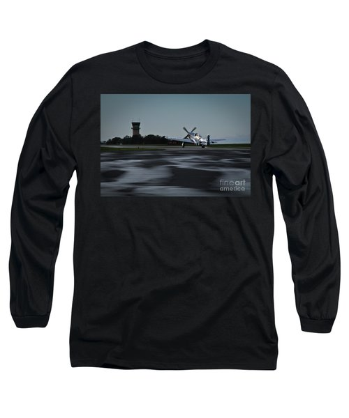 P-51  Long Sleeve T-Shirt by Douglas Stucky
