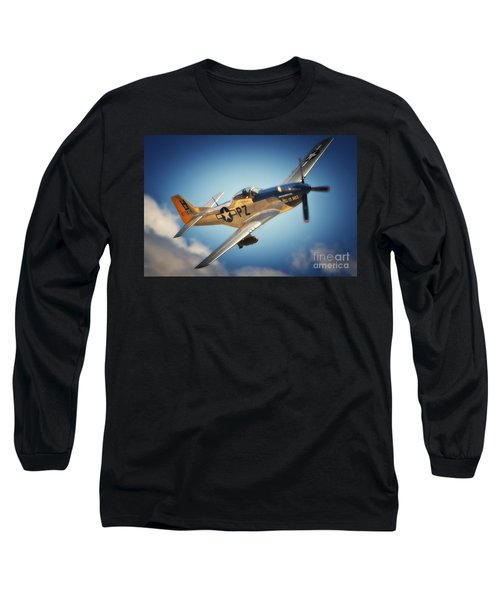 P-51 Mustang Hell Er Bust Long Sleeve T-Shirt