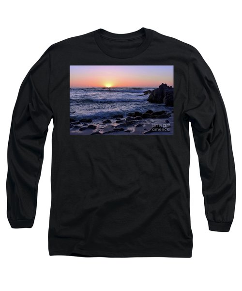 Long Sleeve T-Shirt featuring the photograph Pacific Twilight by Gina Savage