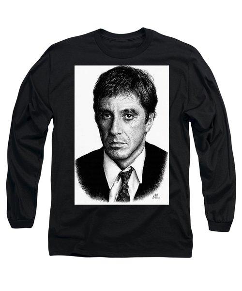 Pacino Scarface Long Sleeve T-Shirt