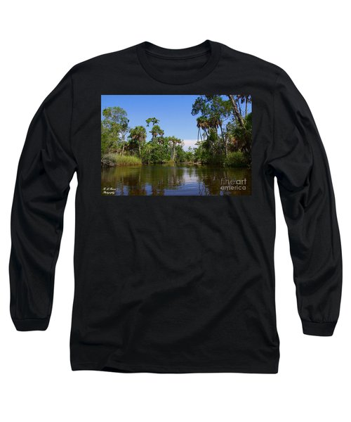 Paddling Otter Creek Long Sleeve T-Shirt