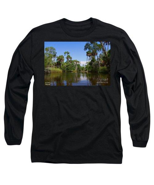 Paddling Otter Creek Long Sleeve T-Shirt