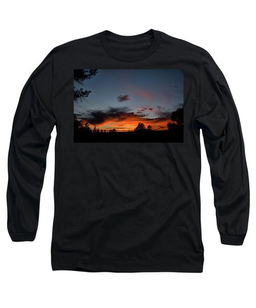 Pagosa Sunset 11-30-2014 Long Sleeve T-Shirt