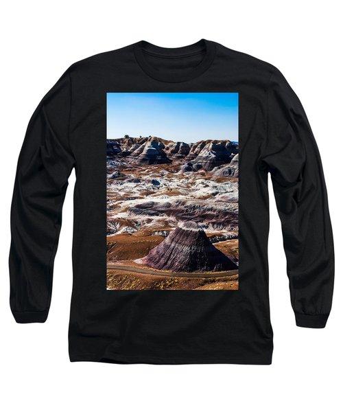 Painted Desert Purple Peak Long Sleeve T-Shirt