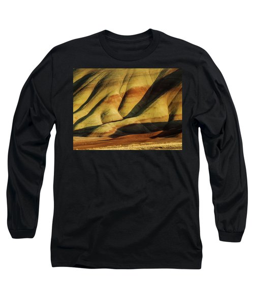 Painted In Gold Long Sleeve T-Shirt