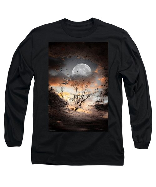 Painted Puddle Long Sleeve T-Shirt