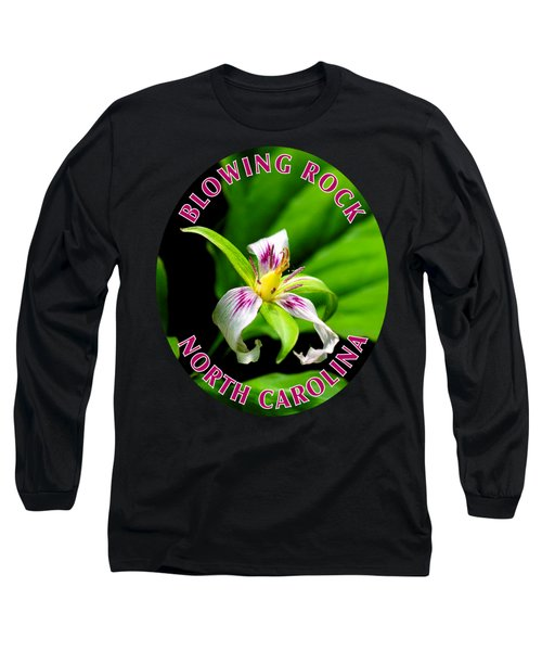 Painted Trillium T-shirt Long Sleeve T-Shirt