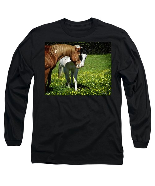 Paints And Buttercups Long Sleeve T-Shirt