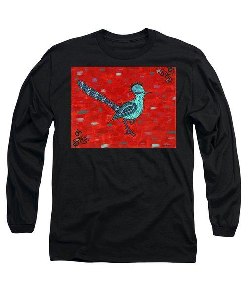 Paisano Petra - Roadrunner Long Sleeve T-Shirt