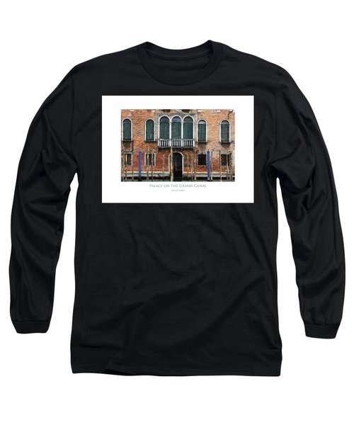 Palace On The Grand Canal Long Sleeve T-Shirt