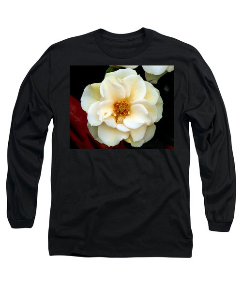 Long Sleeve T-Shirt featuring the photograph Pale Beauty by Lynda Lehmann