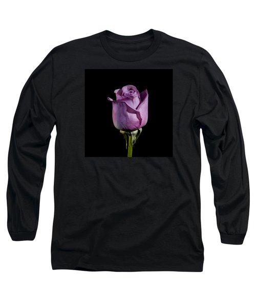 Pale Purple Rose Long Sleeve T-Shirt