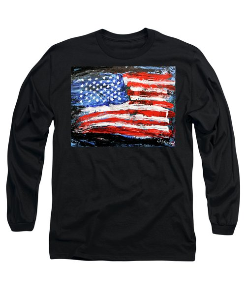 Palette Of Our Founding Principles Long Sleeve T-Shirt
