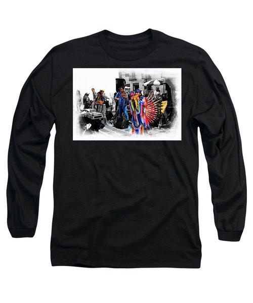 Pan Flutes In Cuenca Long Sleeve T-Shirt