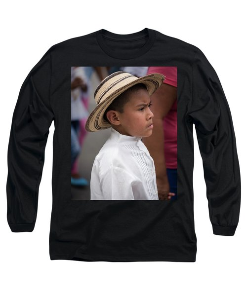 Panamanian Boy Long Sleeve T-Shirt