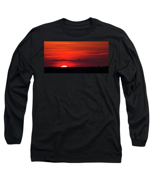 Panoramic Sunset Long Sleeve T-Shirt