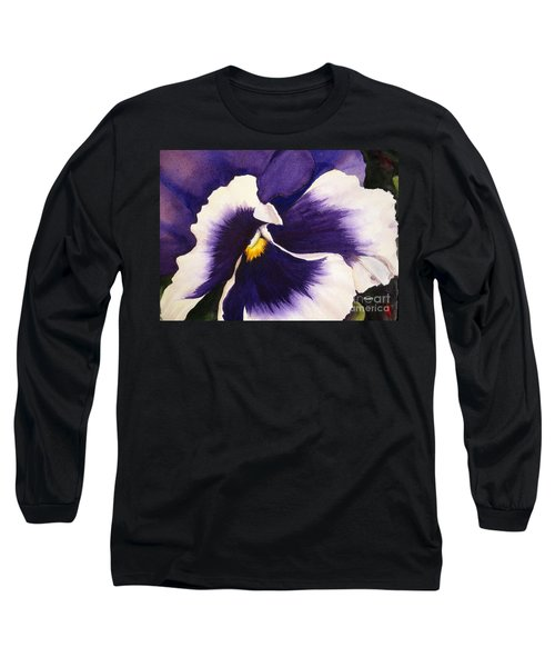 Pansy Face Long Sleeve T-Shirt