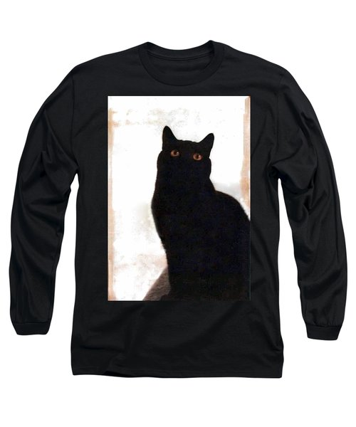 Panther The British Shorthair Cat Long Sleeve T-Shirt