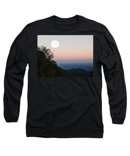 Paper Moon Over Blue Ridge Long Sleeve T-Shirt