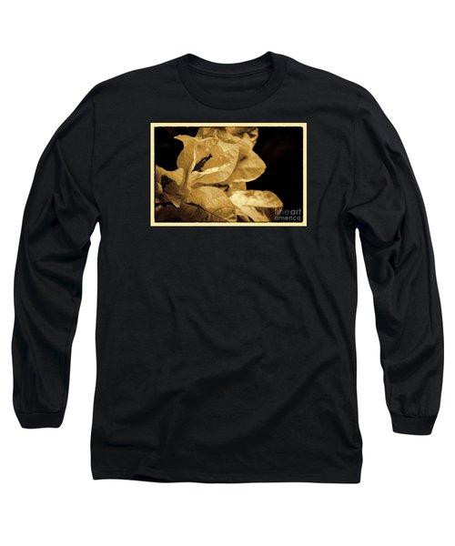 Long Sleeve T-Shirt featuring the photograph Paper Petals by Pamela Blizzard