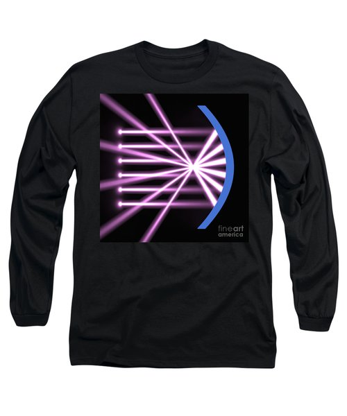 Long Sleeve T-Shirt featuring the digital art Parabolic Reflector 2 by Russell Kightley