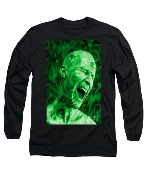 Paranoid Personality Disorder Long Sleeve T-Shirt