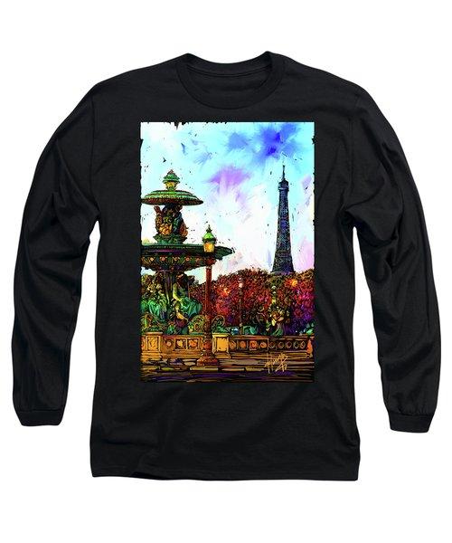Paris Long Sleeve T-Shirt
