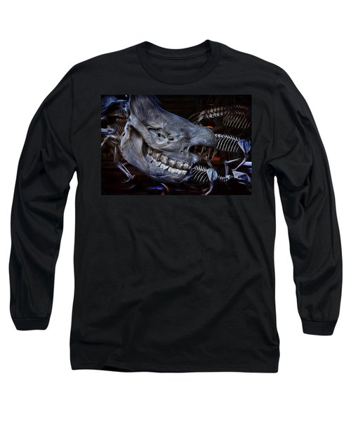 Paris Gallery Of Paleontology 2 Long Sleeve T-Shirt