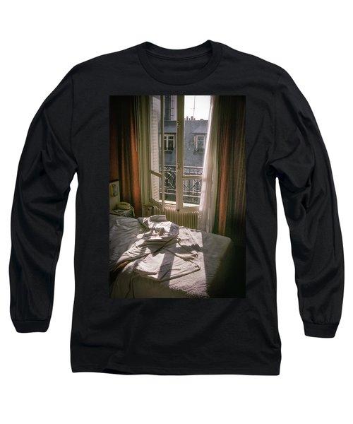 Paris Morning Long Sleeve T-Shirt