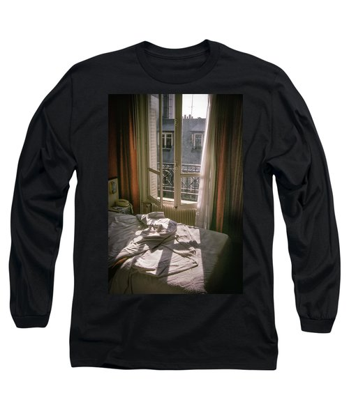 Paris Morning Long Sleeve T-Shirt