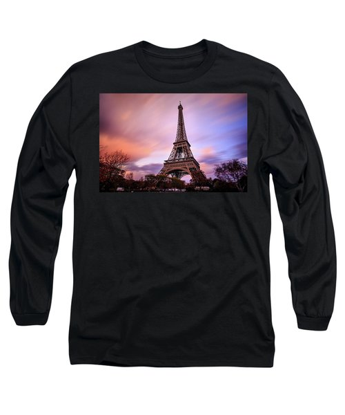 Paris Pastels Long Sleeve T-Shirt