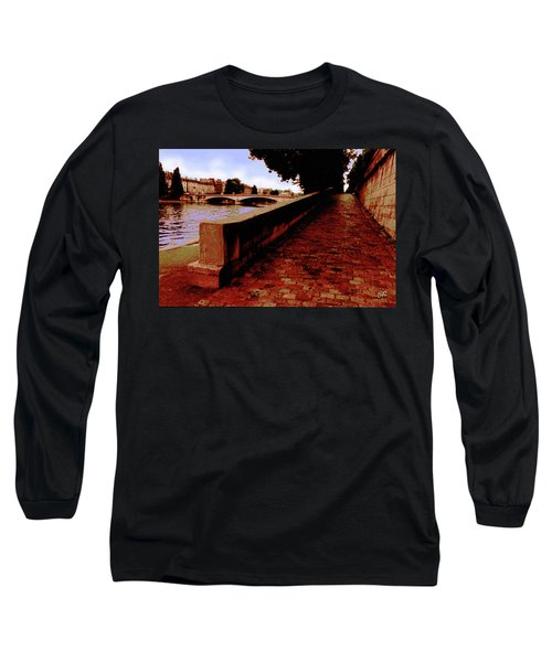 Paris - View Of The Seine Long Sleeve T-Shirt