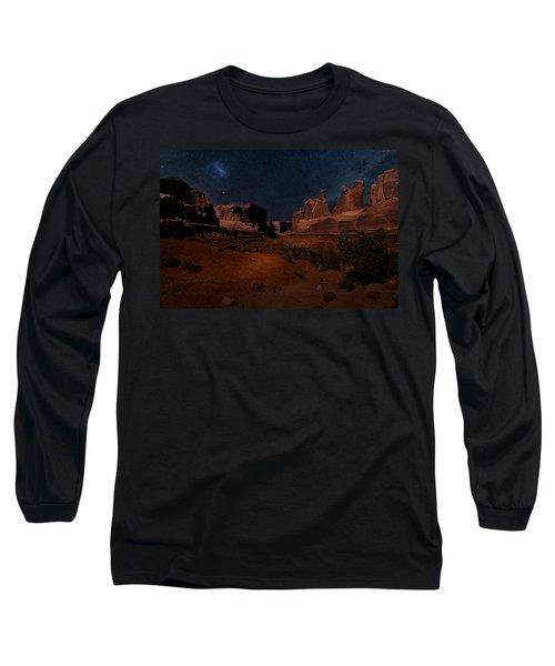 Park Avenue Trailhead Long Sleeve T-Shirt by James Bethanis
