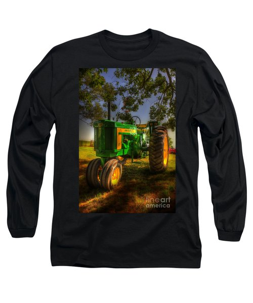 Parked John Deere Long Sleeve T-Shirt