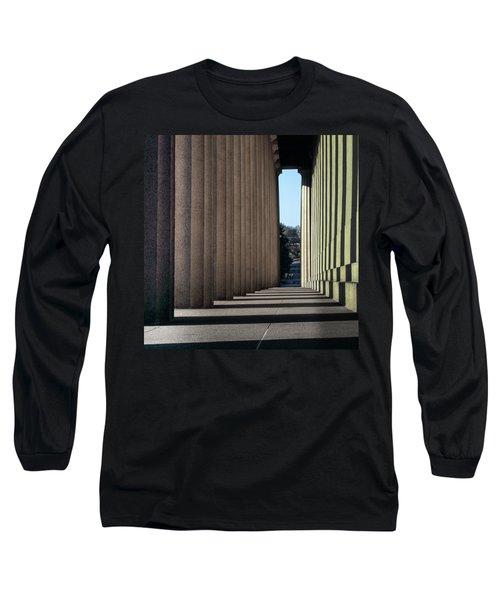 Parthenon Shadow Tunnel Long Sleeve T-Shirt