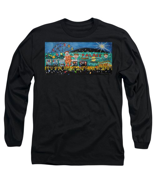 Long Sleeve T-Shirt featuring the painting Party At The Palace by Patricia Arroyo