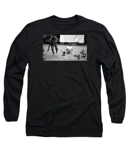 Party Crasher Long Sleeve T-Shirt by David Gilbert