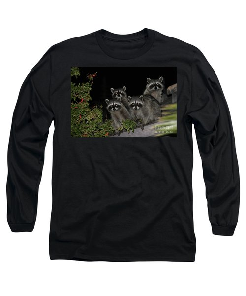 Party Of Five On The Roof Top Long Sleeve T-Shirt