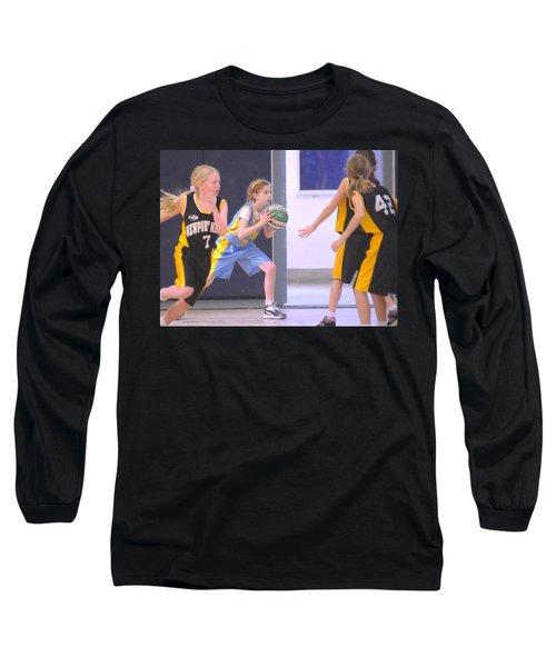 Pass The Ball Long Sleeve T-Shirt