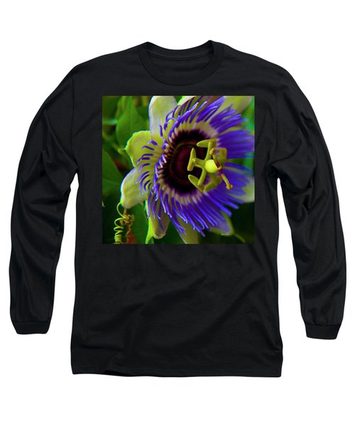 Passion-fruit Flower Long Sleeve T-Shirt