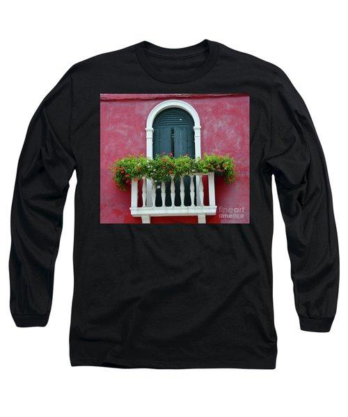 Pastel Colors Of Burano  Long Sleeve T-Shirt