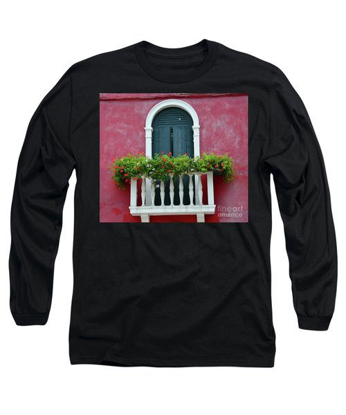 Pastel Colors Of Burano  Long Sleeve T-Shirt