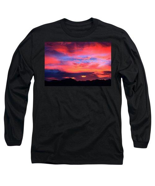 Pastel Sunset Long Sleeve T-Shirt